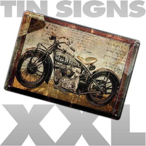 tin sign XXL
