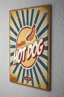 Tin Sign Kitchen Hot Dog