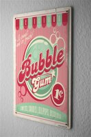Tin Sign Nostalgic Fun Chewing gum