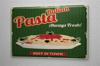 Tin Sign Kitchen Pasta