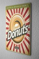 Tin Sign Kitchen Donuts