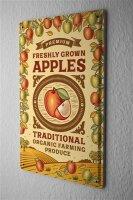 Tin Sign Kitchen Apples