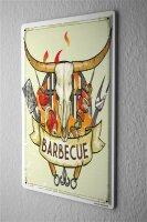 Tin Sign Kitchen Barbecue