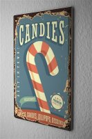 Tin Sign Kitchen candies