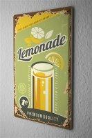 Tin Sign Nostalgic lemonade