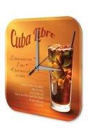 Wall Clock Bar Party Vintage Decoration Cuba Libre recipe...