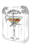 Nostalgic Wall Clock Alcohol Retro Deco Cosmopolitan...