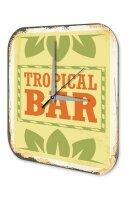 Wall Clock Bar Party Vintage Decoration tropical bar...