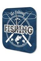 Wall Clock Angler Home Go fishing Sport Fishing Deep Sea