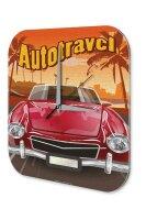 Wall Clock Vintage Car Decoration Car travel Acryl...
