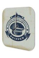 Wall Clock Office Workshop Skipper Vintage Decoration