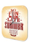Retro Wall Clock Summer sun fun Vintage Decoration...