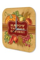 Retro Wall Clock Thanks giving Vintage Decoration Plexiglass