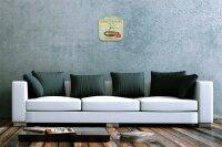 Wall Clock Coffee Cafe Bar Coffee Decorative Plexiglass