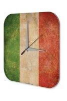 Wall Clock Holiday Travel Agency Italy Plexiglass