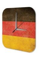 Wall Clock Holiday Travel Agency Germany Acrylglass