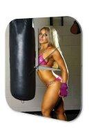 Sexy Girl Wall Clock Boxing sexy Printed Acryl Plexiglass