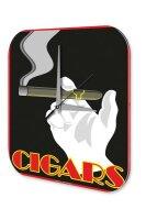 Wall Clock Bar Restaurant Decoration Cigar smoking...
