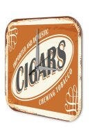 Tobacco Wall Clock Deco Chewing tobacco Printed Acryl...