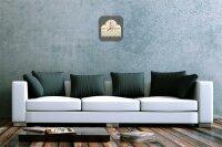 Wall Clock Holiday Travel Agency Diner 1950 Acrylglass