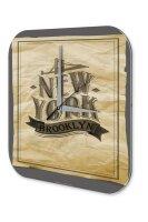 Wall Clock Holiday Travel Agency Brooklyn Plexiglass