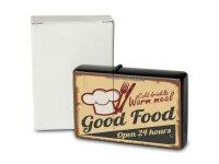 Pocket Windproof Lighter Brushed Oil Refillable Good food