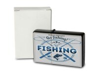 Pocket Windproof Lighter Brushed Oil Refillable Go fishing