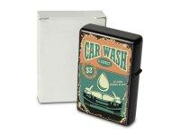 Pocket Windproof Lighter Brushed Oil Refillable car wash