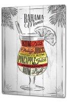 Tin Sign XXL Bar Party Bahama Mama