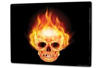 Tin Sign XXL Hospital Skull