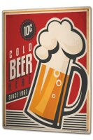 Tin Sign XXL Brewery Beer Kitchen Cold beer