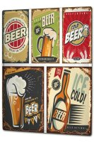 Tin Sign XXL Brewery Beer Kitchen Beer