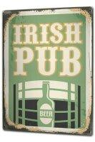 Tin Sign XXL Brewery Beer Kitchen Irish pub