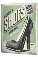 Tin Sign XXL Clothes Fashion Shoes