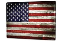 Tin Sign XXL Holiday Travel Agency Flag of United States