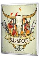 Tin Sign XXL Kitchen Barbecue