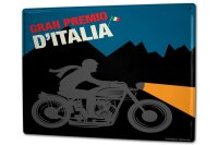 Tin Sign XXL Motorcycle Garage Grand Prix