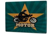 Tin Sign XXL Retro Biker Motorcycle