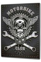 Tin Sign XXL Retro Biker Motorcycle Club