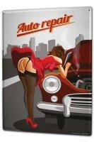 Tin Sign XXL Sexy Fun Ravtive Auto repair