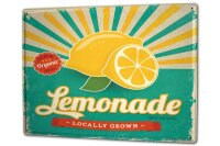 Tin Sign XXL Nostalgic Lemonade