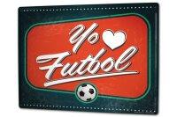 Blechschild XXL Fun Fußball