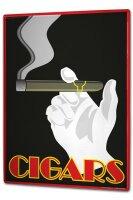Tin Sign XXL Bar Restaurant Cigar smoking