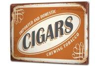 Tin Sign XXL Tobacco Chewing tobacco