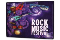 Tin Sign XXL Holiday Travel Agency Music Festival