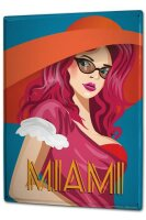 Tin Sign XXL Holiday Travel Agency Miami