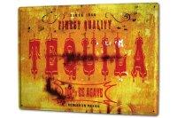Tin Sign XXL Bar Party M.A. Allen tequila