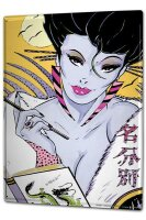 Tin Sign XXL Retro Nostalgia Asia FeliX Sexy lady dragon...