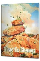 Tin Sign XXL Picture G. Huber Rock butterfly Harmony Vintage