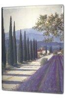Tin Sign XXL Holiday Travel Agency F. Heigl Tuscany...